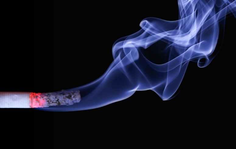 cigar cigarette smoke macro
